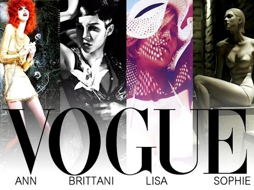 Antm winners 壁紙 possibly with アニメ called Vogue Italia Editorials