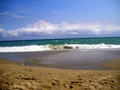 Waves on the beach - photography photo