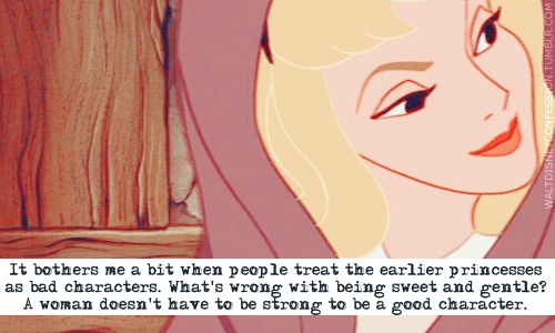 What's wrong with being sweet and gentle?
