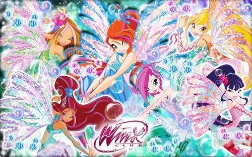 Winx Sirenix ~ Wallpaper. - the-winx-club Fan Art