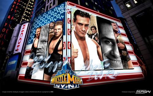 Alberto Del Rio vs Jack Swagger - Wrestlemania 29