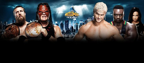Wrestlemania 29:Team Hell No vs Dolph Ziggler and Big E Langston