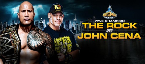 Wrestlemania 29:The Rock vs John Cena