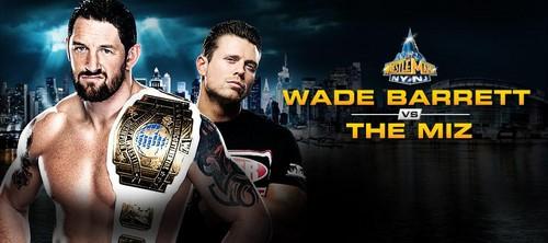Wrestlemania 29:Wade Barrett vs The Miz