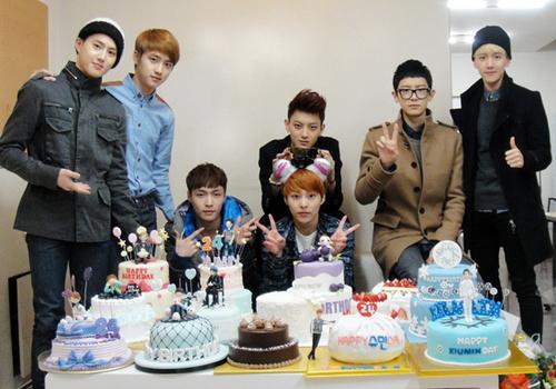 Xiumin Birthday Cake