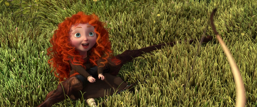 Childhood Animated Movie Heroines karatasi la kupamba ukuta possibly with a grainfield entitled Young Merida