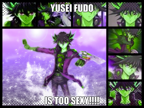 Yu-Gi-Oh 5Ds wallpaper containing anime called Yusei Fudo