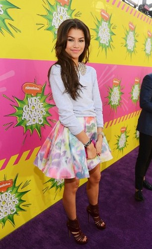 Zendaya-Kids' Choice Awards 2013