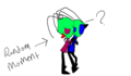 Zim and Zinc- &amp;Zim is now 99% more crazy o3o* HOW DARE YOU HUG ZINC D8&lt; - invader-zim-fancharacters photo