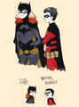 batgirl: So tim you and.. wondergirl :3 - young-justice photo
