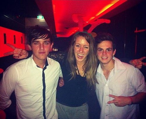 beau brooks, estelle landy from big brother and daniel sahyounie