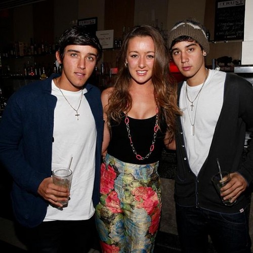 beau brooks, estelle landy from big brother and jai brooks <3