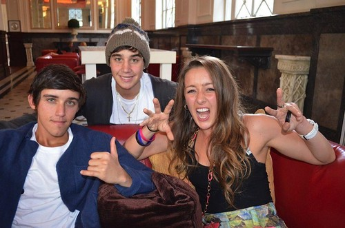 beau brooks, jai brooks and estelle landy from big brother <3