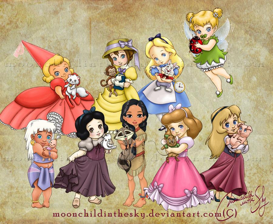 children princesses