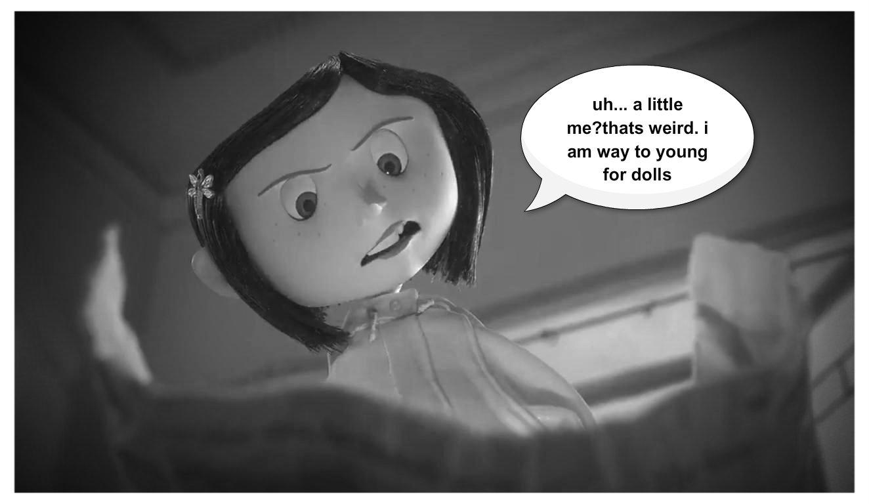 coralines little her