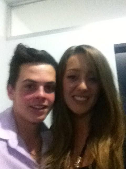 daniel sahyounie and estelle landy from big brother
