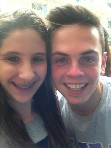daniel sahyounie with his অনুরাগী ♥♥