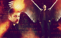 dean winchester - crossfire - supernatural wallpaper