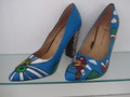 fabulous hand painted Super mario heels - womens-shoes photo
