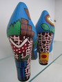 fabulous hand painted Super mario heels
