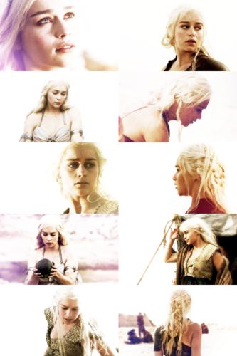 Daenerys Targaryen + white
