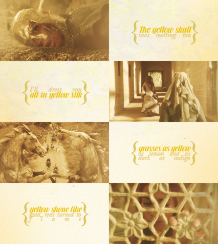 Game Of Thrones + Yellow