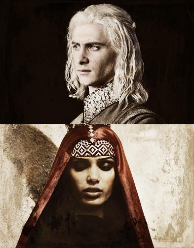 Viserys Targaryen & Arianne Martell