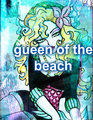 gueen of the beach - monster-high fan art