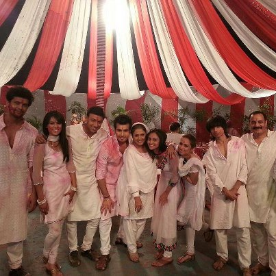 happy holi by entire team