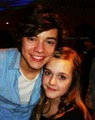 harry with a fan - one-direction photo