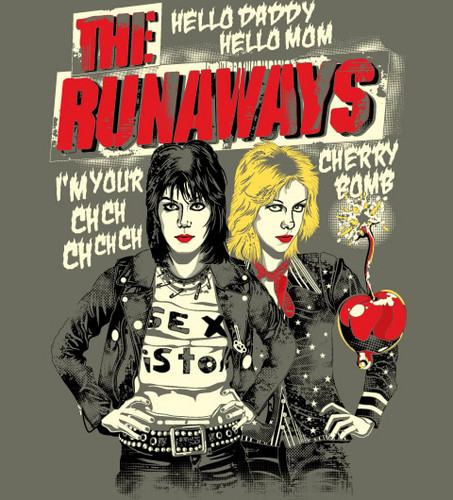 Wallpaper Helloworld: The Runaways Movie Images Hello World, I'm You Wild Girl