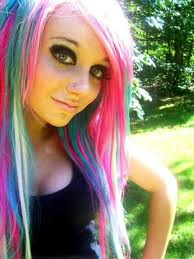 i died my hair the biebs favoriete colors