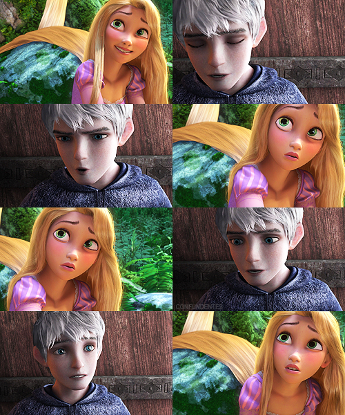 jack frost & rapunzel