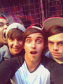 james yammoni, jai brooks, beau brooks and daniel sahyounie  - janoskians photo