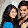 jenifer with karan [husband]