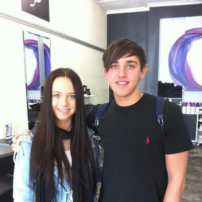 Janoskians wallpaper possibly with a leisure wear and a portrait titled kaitlyn hoban and beau brooks ♥♥