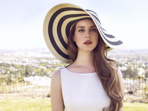 Lana Del Rey karatasi la kupamba ukuta entitled lana
