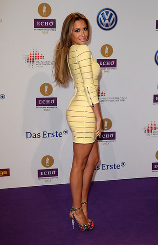 Ozil has been accused of cheating on his girlfriend Mandy Capristo  (pictured) with Melanie