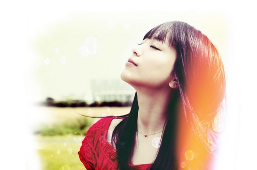 Jpop wallpaper possibly containing a portrait called miwa