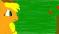my first drawing of apple jack as a pony! - my-little-pony-friendship-is-magic fan art