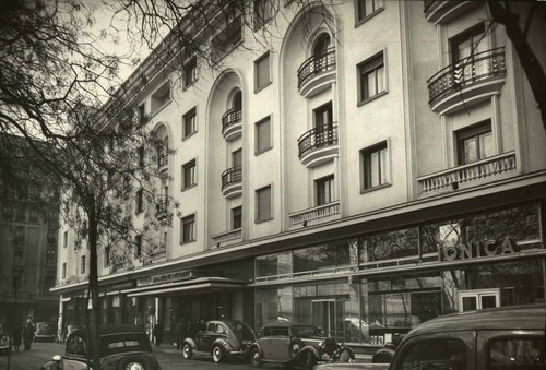 old Bucharest Romania 1940's romanian capital city architecture