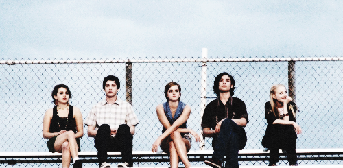 The Perks of being a Wallflower Movie پیپر وال containing a chainlink fence entitled perks of being w wallflower