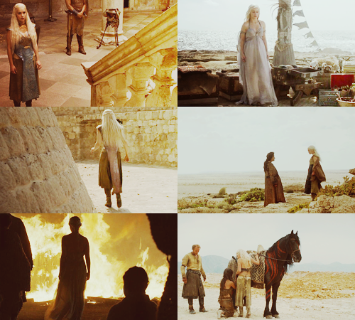 screencap meme: daenerys targaryen + full body shots