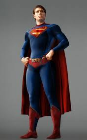 Superman kertas dinding possibly with a surcoat, a kirtle, and a baju, blaus called Superman