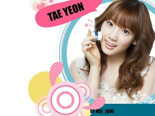 taeyeon (snsd) wallpaper probably containing a portrait entitled taeyeon