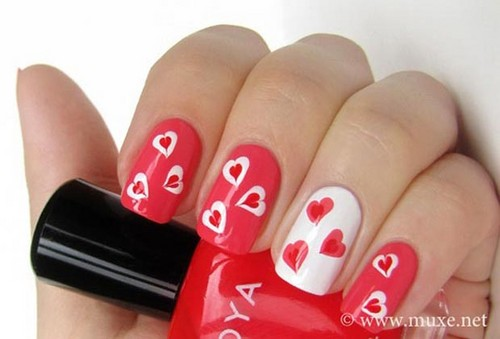 Nails, Nail Art wallpaper called valentines day