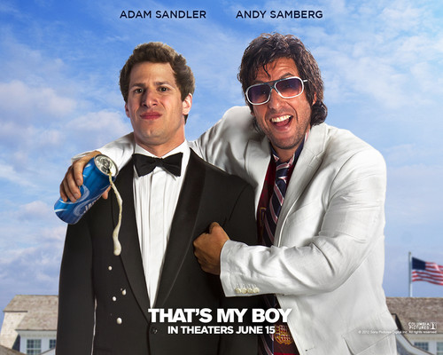 Adam Sandler wallpaper with a business suit titled ★ Adam ~ That's My Boy ☆