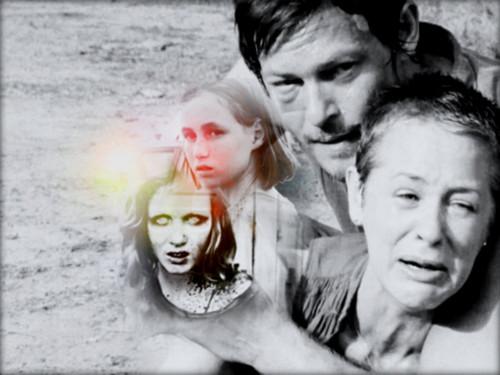 ★ Carol, Daryl & Sophia ☆