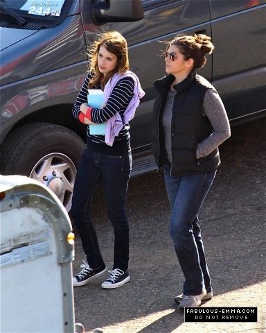 'Delirium' TV Pilot: Actors on set