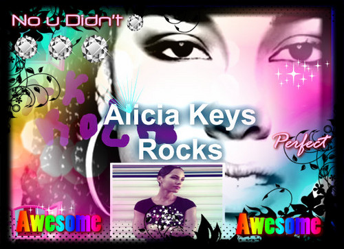 I  love u alicia Keys